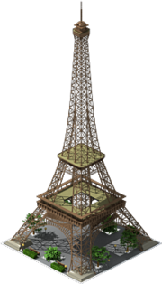 Building Eiffel Tower