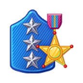 Badge Military Level 82