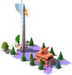 Bronze SAM-35 Monument