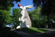 RealWorld Nijmegen Rabbit Sculpture