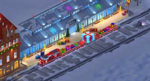 Snowville Train