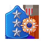Badge Military Level 79