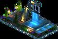 Sherburne Fountain (Night)
