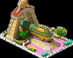 Gold Essen Locomotive Arch