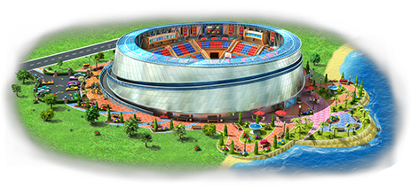 Megapolis Basketball Arena Artwork
