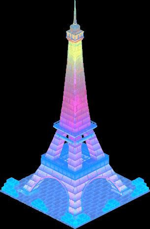 Ice Eiffel Tower L3