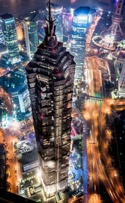 RealWorld Jin Mao Tower (Night)
