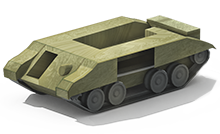 LP-10 Light Tank Construction