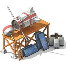 NS-23 Navigation Satellite Construction