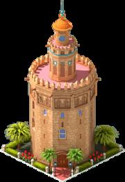 Seville's Golden Tower