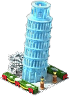 Ice Leaning Tower of Pisa