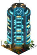 Riviera Residential Complex (Night)