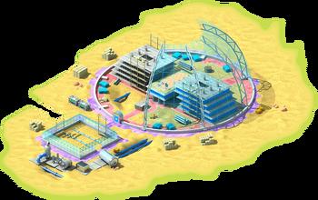 Anti-Gravitational Greenhouse Construction