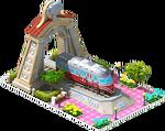 Silver Ferreira Locomotive Arch