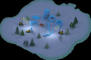 Ice Maze Construction