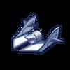 SS-10 Spaceship Tailpiece