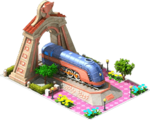 Bronze Mercury Locomotive Arch