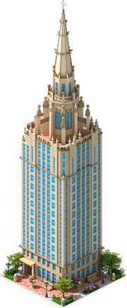 The Chicago Temple Building