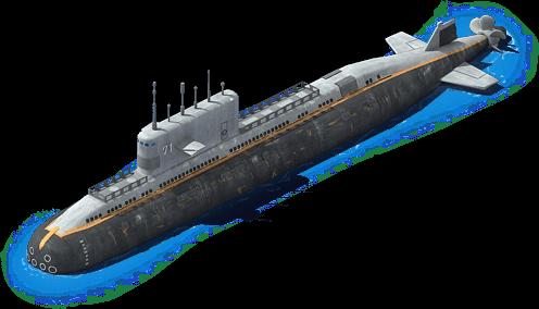 DS-40 Diesel Submarine L1