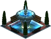 Farber Fountain (Night)