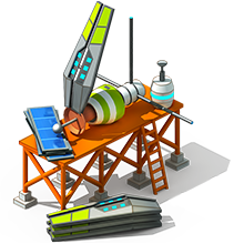 NS-47 Navigation Satellite Construction