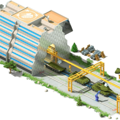 Heavy Tanks Conveyor