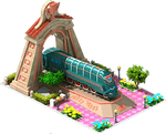 Bronze Spark Locomotive Arch