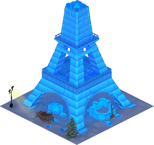 Ice Eiffel Tower L2