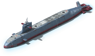 NS-64 Nuclear Submarine L1