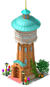 Water Tower in Trebon