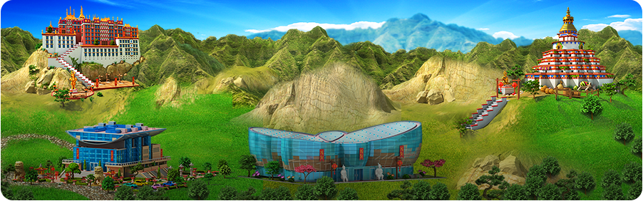 Ancient Martial Arts in Megapolis! Background