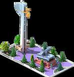 Silver SAM-35 Monument