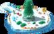 Floating Christmas Tree L1