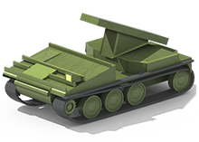 SPG-25 Construction