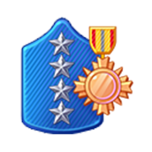 Badge Military Level 84