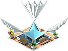 Decoration Los Abanicos Square