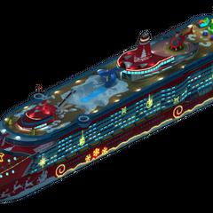 Christmas Cruise Ship (Night Version)