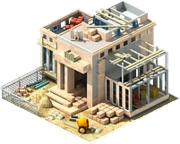Megapolis Federal Reserve Construction