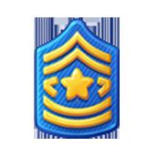 Badge Military Level 18