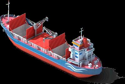 Wharf (Ship) Docked