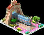 Bronze Red Star Locomotive Arch