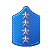 Badge Military Level 83
