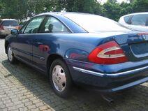 Opel Calibra cammuffata 2
