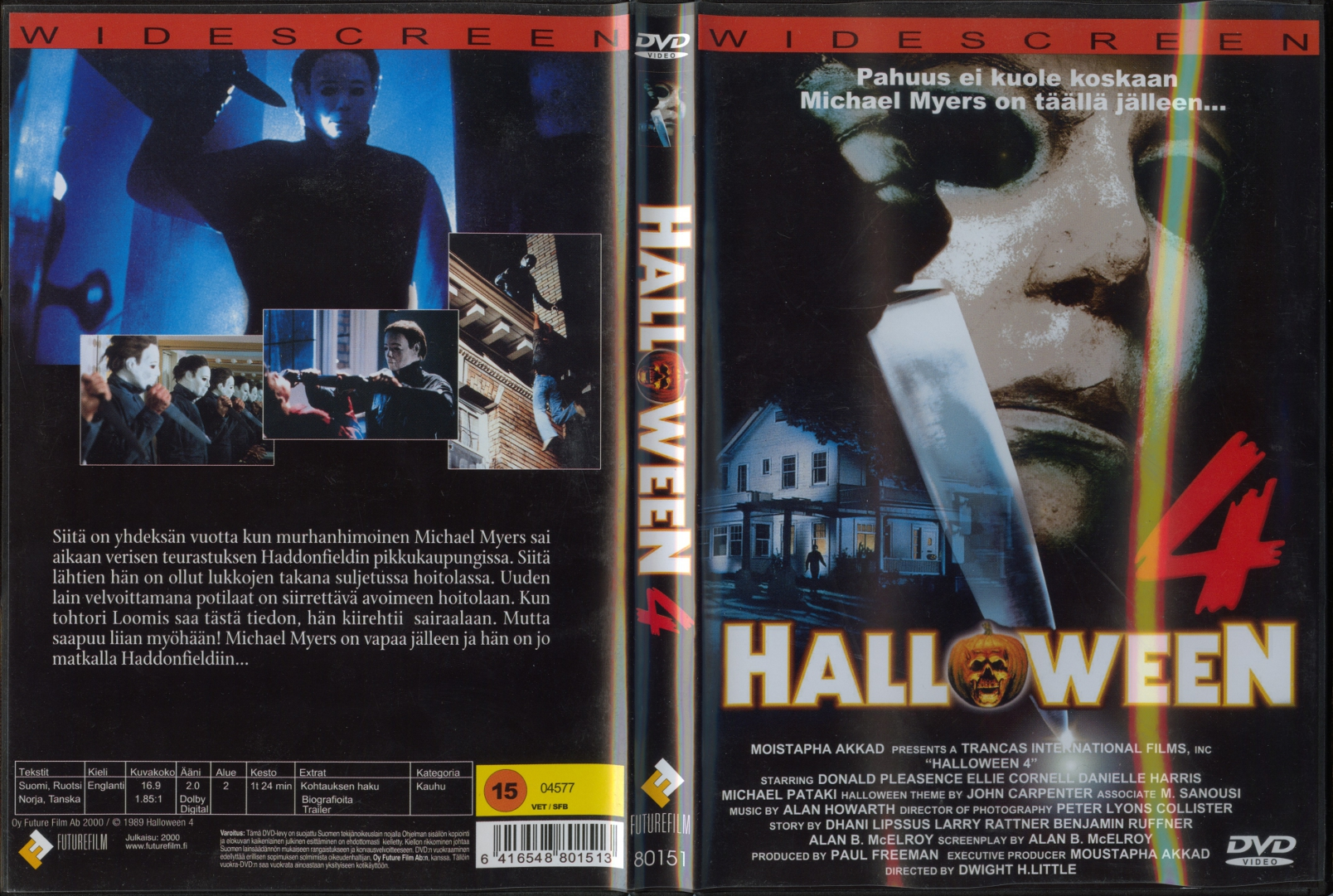 halloween 4: the return of michael myers (1988) | squer's vault of