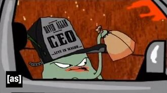 The Boat is not a Toy Squidbillies Adult Swim