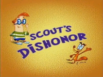 Scout's Dishonor Title Card