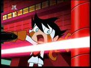 Chrio Dodging a Laser