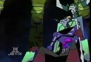 Skeleton King on Throne