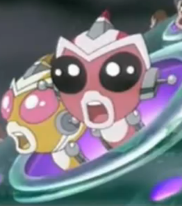 Sparx and Nova in Invasion of the Vreen