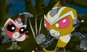 Sparx and Nova in The Stranded Seven